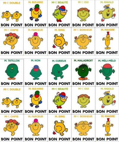 Jolis Bons Points A Imprimer Mr Mme