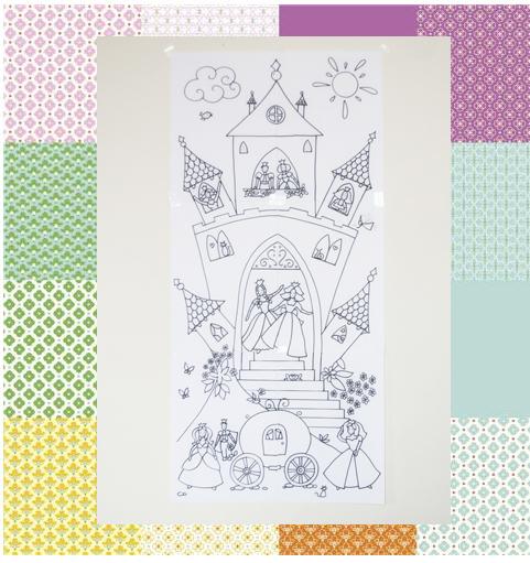 Coloriage Geant A Imprimer En Plusieurs Parties.Free Printable 5 Coloriages Geants