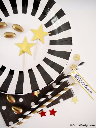 new-year-eve-party-ideas-gold-black-white-nouvel-an-sweet-tables-printables11