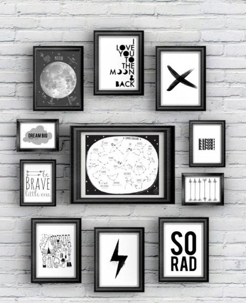 {Free printable} 12 posters à imprimer!