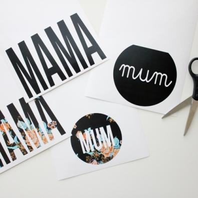 {Celebrate} 13 supers printables pour la fête des mères!