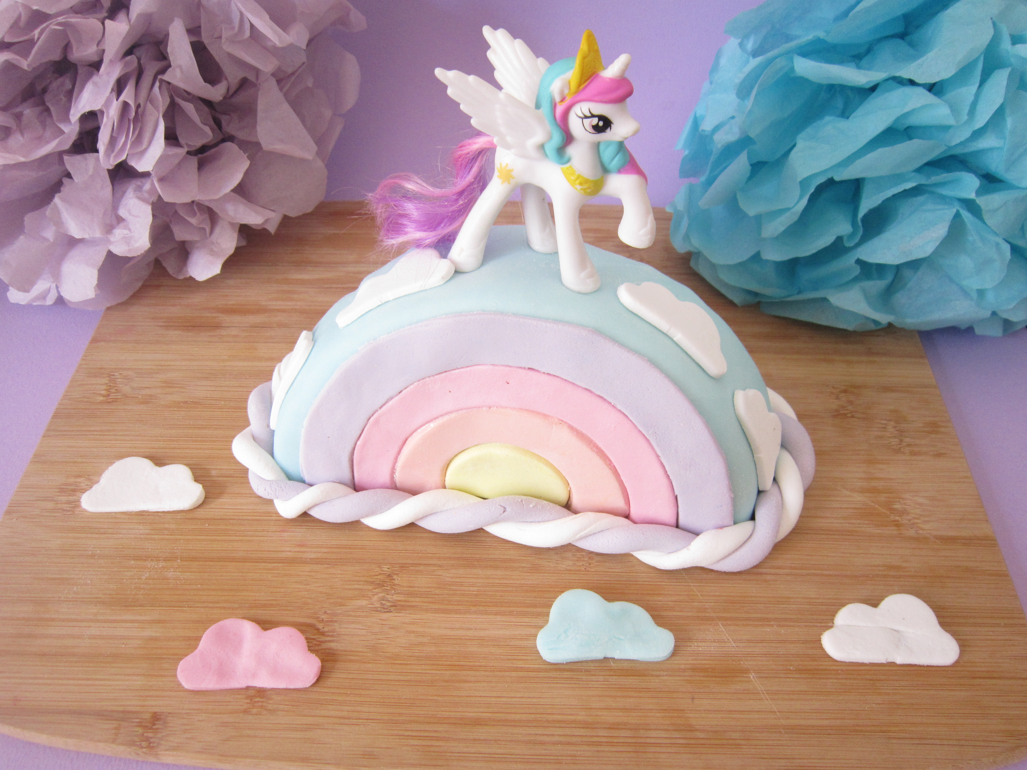 food my little pony cake - Gateau Anniversaire Fille 7 Ans