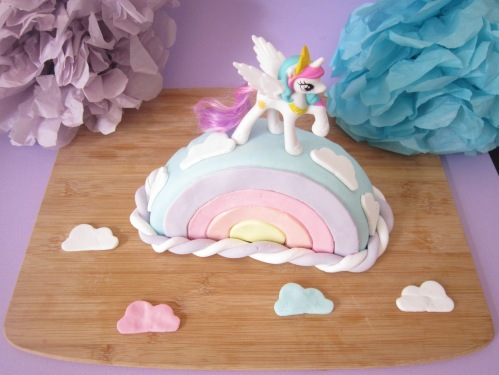 {Food} My little pony cake!