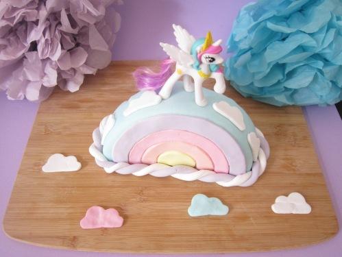 {Food} My little pony cake!