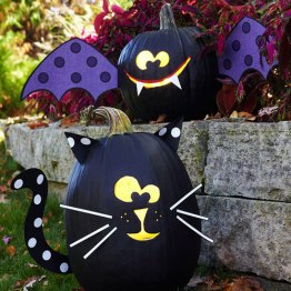 15 DIY pumpkin for Halloween