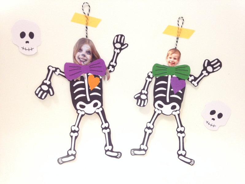 DIY squelette articulé par Moma