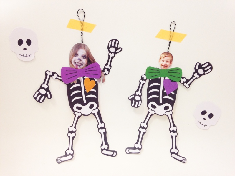 DIY squelette articulé par Moma for halloween