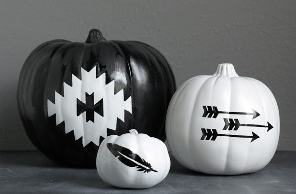 southwest inspired pumpkins
