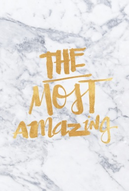 The most amazing