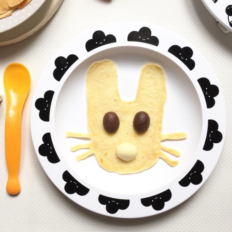 {Food} Le petit dèj de Pâques et les crêpes lapins!