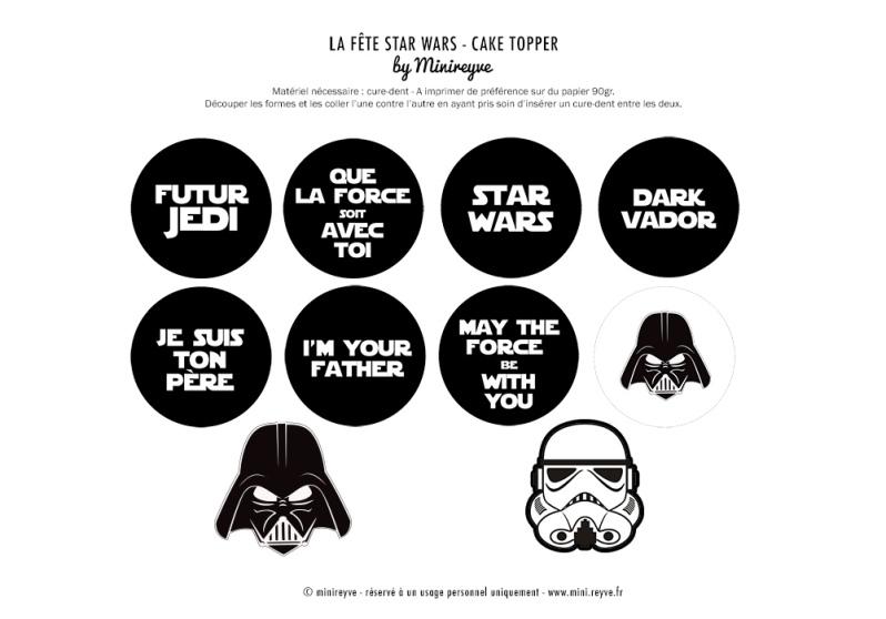 Tout Tout Tout Pour Réaliser Une Super Fête Star Wars
