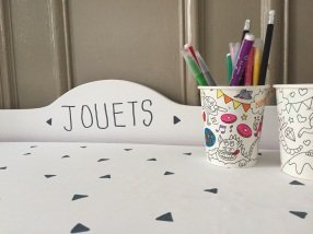 {DIY} Bye bye le coffre à jouets Hello Kitty!