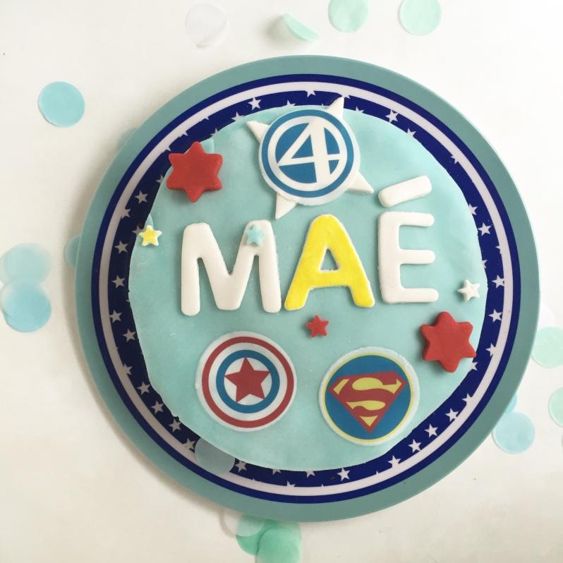 {Food} Le gâteau de super héros au micro ondes!