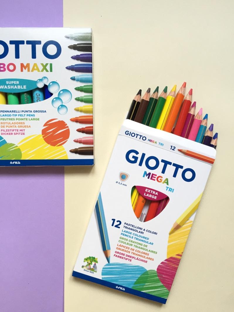 {Découverte} La gamme Giotto et DIY en pagaille!