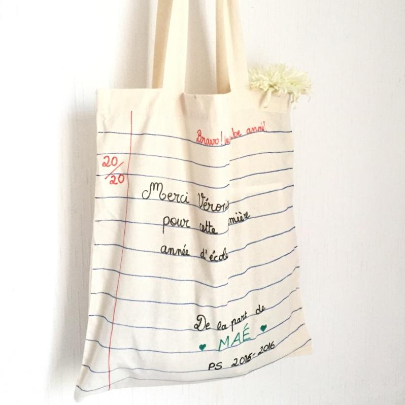 {DIY} Le tote bag spécial maîtresse!