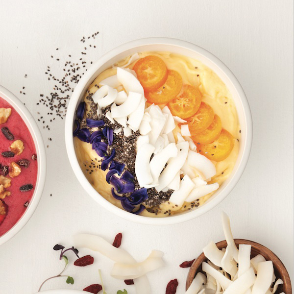 Le smoothie bowl tourbillon tropical