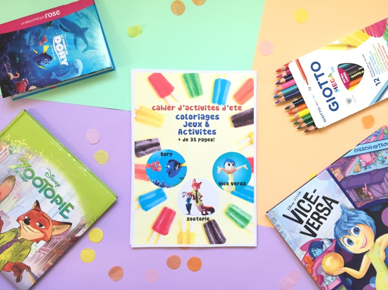 {Free printable} Le book d'activités de l'été!