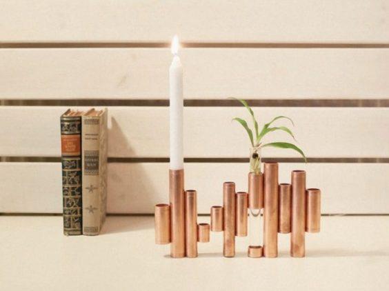 {Sélection DIY} 20 projets en cuivre pour la maison! - 20 Copper projects DIY for Home - Moma le blog