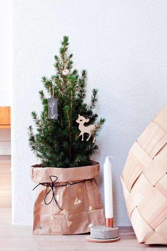 {Noël} 15 sapins pour un esprit scandinaves - Moma le blog
