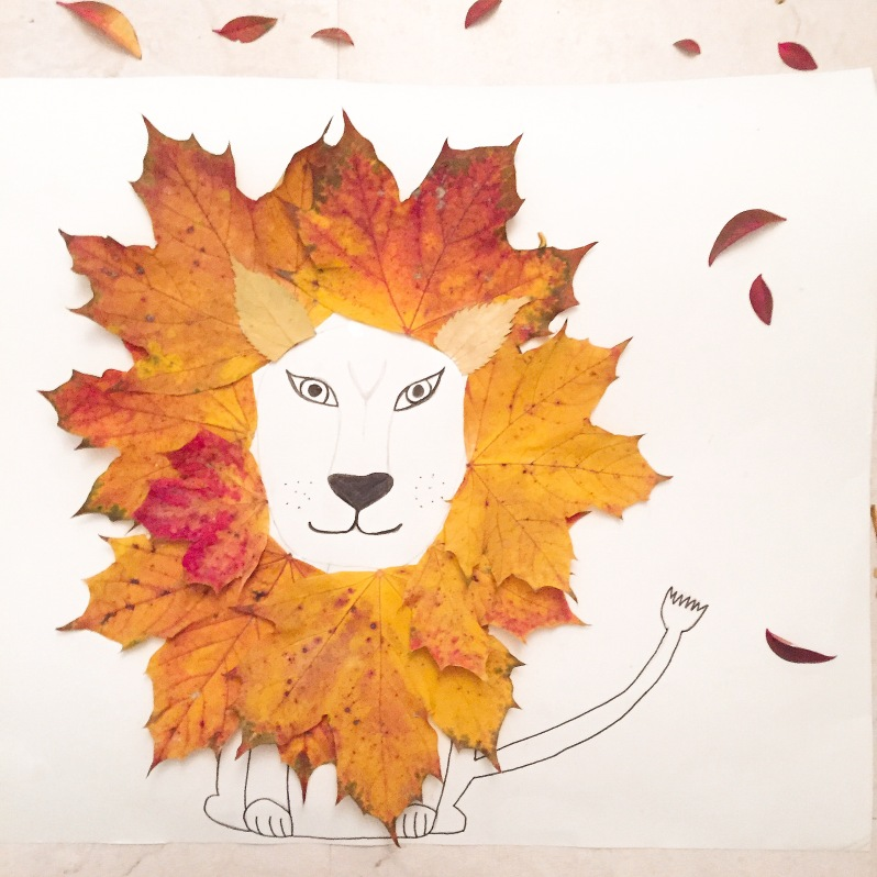 {DIY} Les lions d'automne par Moma le blog