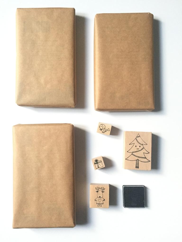 {DIY} Les paquets cadeaux personnalisés! Moma le Blog