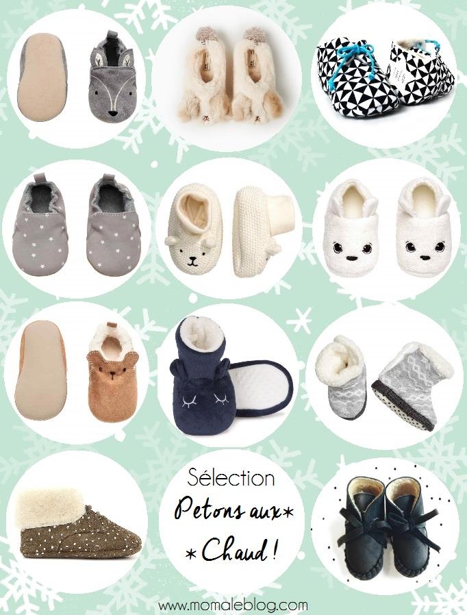 Sélection petits chaussons tout chauds!