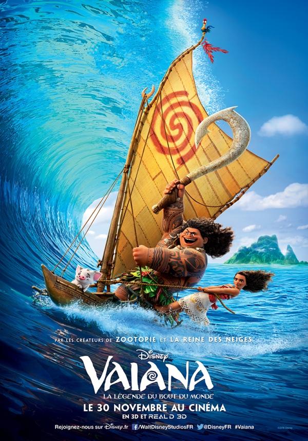 Vaiana, le nouveau Disney!