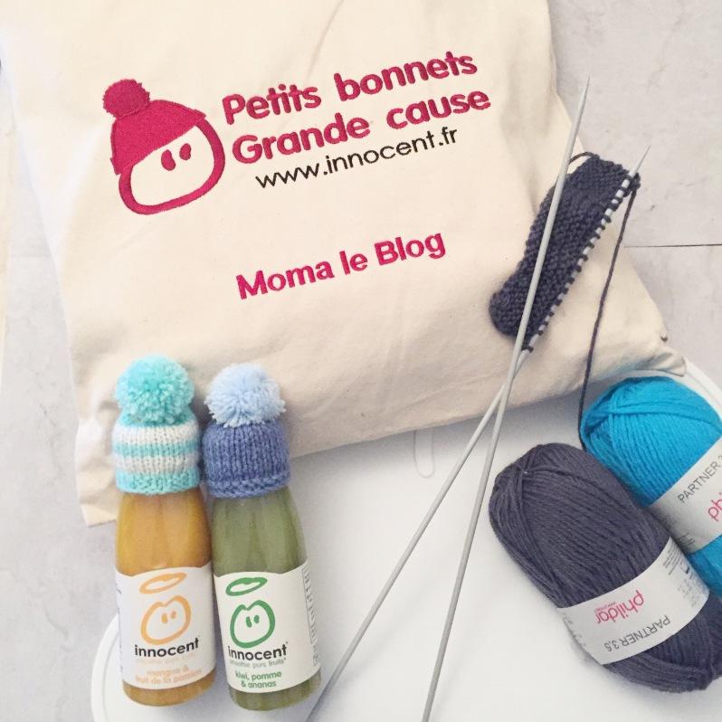 {#Mets ton bonnet} On tricote pour la bonne cause!