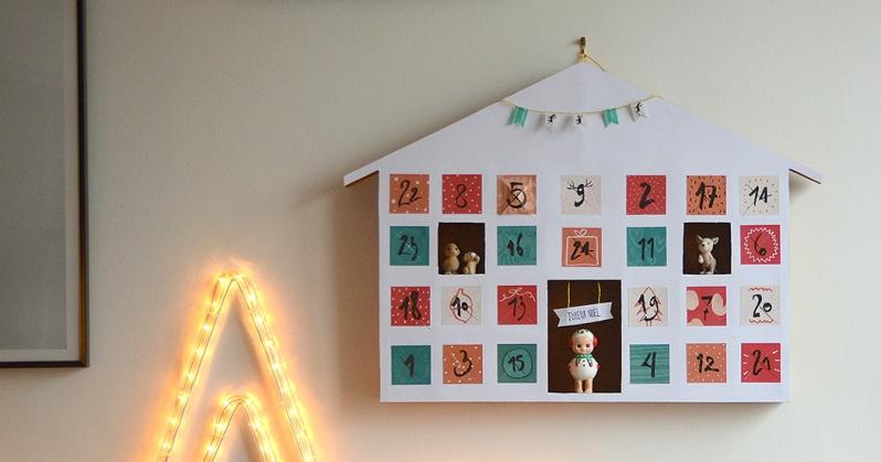 {DIY} 15 calendriers de l'avent originaux ! Moma le blog