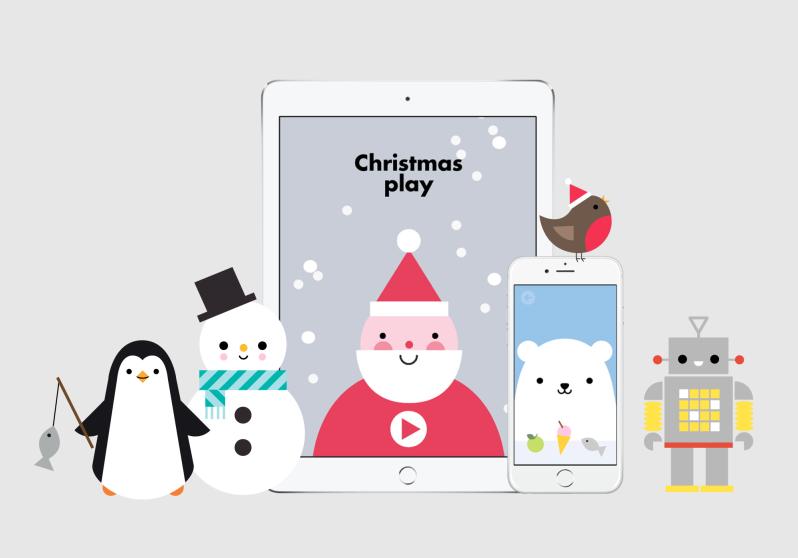 {Mini Geek} L'appli coup de cœur de Buddy and Bear pour attendre Noël!