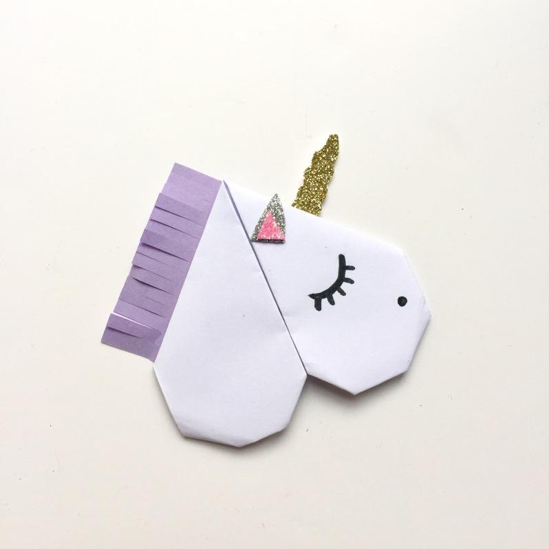{DIY} Les jolis marques page animaux en origami! Moma le blog