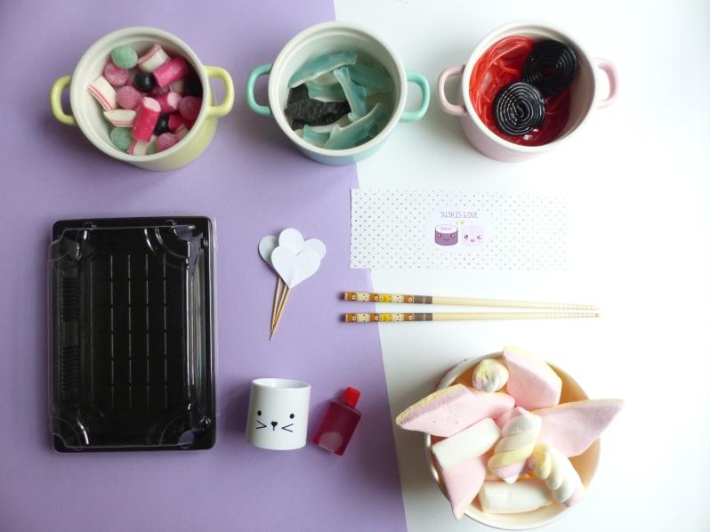 {DIY} Les sushis bonbons à message de la St Valentin! Moma le blog