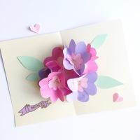 {DIY} La carte pop up pour la fête des mères!