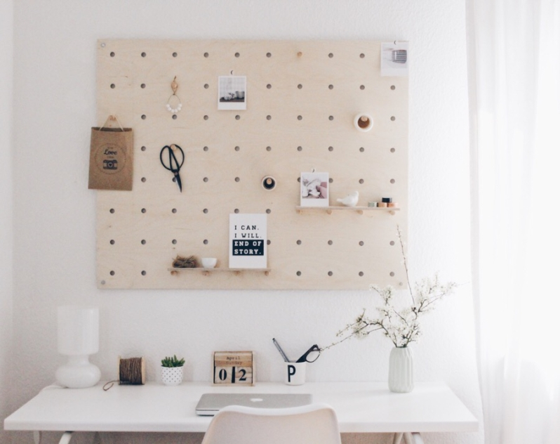 Diy home 15 panneaux muraux pour toute la maison faciles r aliser - Pinnwand ideen selber machen ...