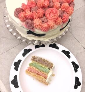 {Food} Le gâteau licorne de Manon!