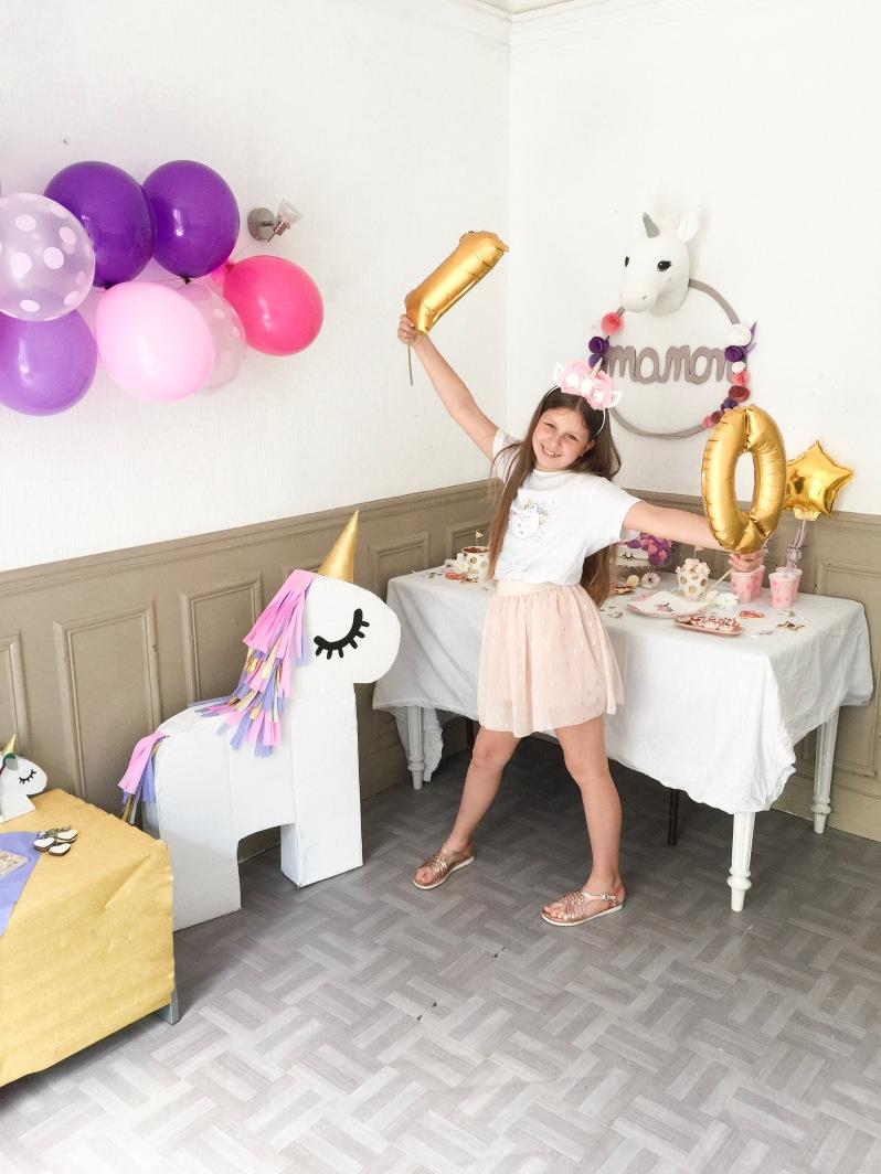Fabriquer Une Pinata Facile Et Rapide celebrate} un anniversaire licorne diy!