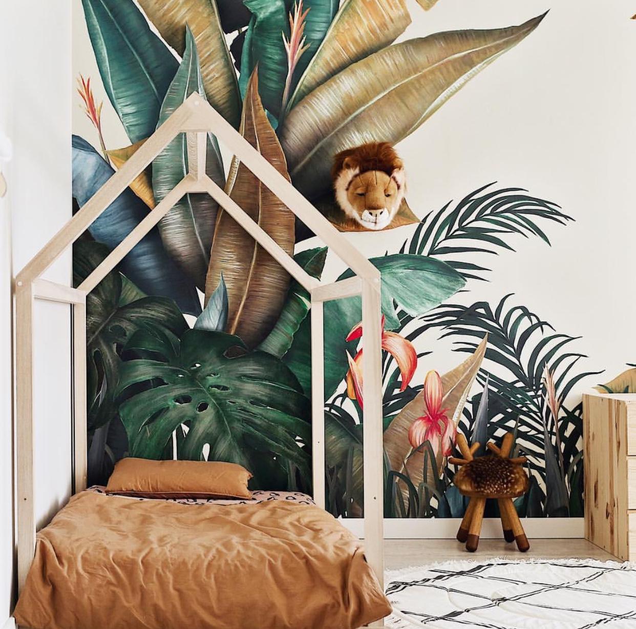 Idee Deco Chambre Claire déco} une chambre enfant thème nature/animaux!