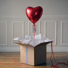 ballon-cadeau-coeur-rouge