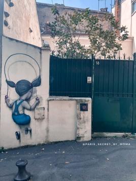 {Paris Street Art} A la découverte des œuvres du poète urbain Seth Globe painter
