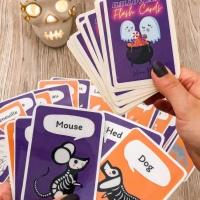 {Free} Des flash cards Halloween à imprimer pour jouer!
